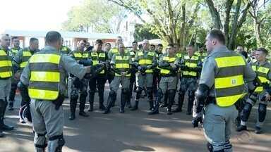 Brigada Militar realiza curso tático em Santa Rosa - Treinamento contou com participantes da Argentina.