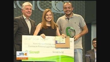 NSC TV é reconhecida em categorias no Prêmio Acic de Jornalismo - NSC TV é reconhecida em categorias no Prêmio Acic de Jornalismo