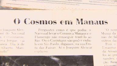 Jogo do Cosmos em Manaus contra o Fast é tema de livro - Jogo do Cosmos em Manaus contra o Fast é tema de livro