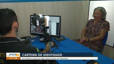 Carteira de Identidade: Aumenta a procura pelo documento em Roraima - A procura pela emissão cresceu nos últimos meses
