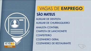Ao Trabalho: confira as oportunidades de emprego abertas no Sine de São Mateus, ES - Oportunidades estão abertas enquanto as vagas não forem preenchidas.