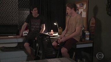 Beto e Felipe falam mal de Rita - Felipe acredita que Rita o usou o tempo todo