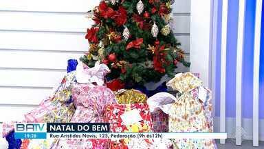 Natal do Bem: baianos colaboram com campanha de arrecadação de brinquedos - Os presentes serão doados para instituições de caridade da capital baiana.