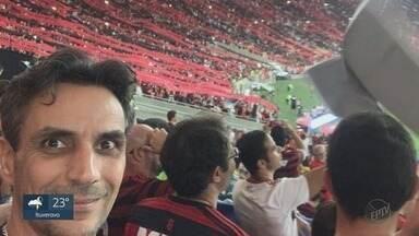 Torcedor do Flamengo de Ribeirão Preto está de malas prontas para o Mundial de Clubes - Marcelo está com passagens compradas para assistir ao jogo no Catar.
