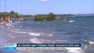 Região sudoeste da Bahia concentra cidades menos violentas segundo lista do governo - O levantamento mostra cidades que não registraram crimes violentos de janeiro à novembro deste ano.