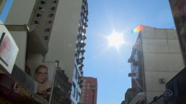 São Gabriel e Jaguarão estão entre as 10 cidades mais quentes do Brasil nesta quarta-feira - Inmet registrou 37°C nas duas cidades.