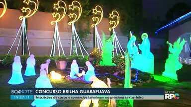 Concurso Brilha Guarapuava tem inscrições abertas - Concurso vai premiar as casas e as lojas mais enfeitadas neste Natal.