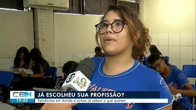 Especialista dá dicas a jovens que estão escolhendo carreira profissional - Confira mais notícias em g1.globo.com/ce