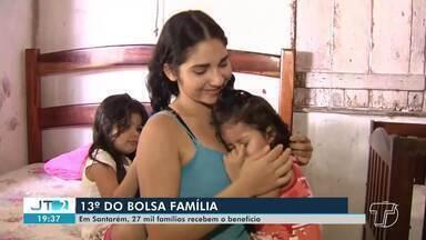 Em Santarém, 27 mil famílias devem receber o 13° do Bolsa Família - Famílias podem ter direito ao benefício, desde que estejam com o cadastro atualizado.