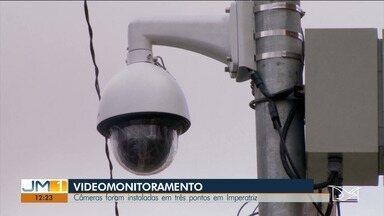 Serviço de videomonitoramento começa a funcionar em Imperatriz - Câmeras vão monitorar o tráfico 24 horas por dia.