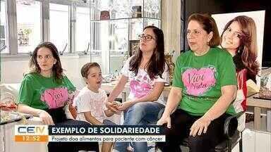 Projeto doa alimentos para pacientes com câncer - Saiba mais no g1.com.br/ce