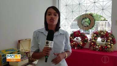 Centro Social de Curvelo realiza feira especial de natal - Produtos artesanais de natal são produzidos por adolescentes que são assistidos pelo projeto.