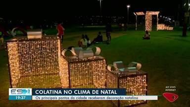 Principais pontos de Colatina recebem decoração de Natal, no Noroeste do ES - Colatina já está no clima de Natal.