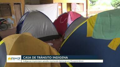 Casa de trânsito indígena em Guajará-Mirim é reformada - Quem precisa ir até a cidade improvisa em barracas.