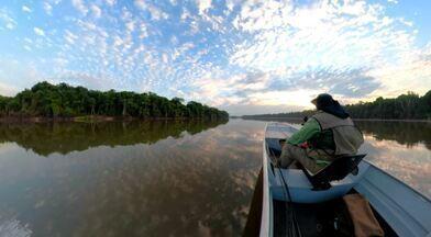 Confira o programa Terra da Gente deste sábado (14/12) - Frango com quiabo, amizade com bugio, a proteção de jacarés-de-papo-amarelo e aventura em Rondônia foram reportagens dessa edição.