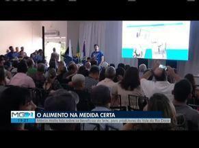 Educador físico Márcio Atalla faz palestra em Governador Valadares - Ele falou sobre os benefícios do leite.