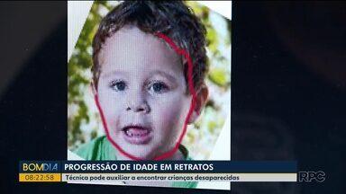 Progressão de idade em retratos - Técnica pode auxiliar a encontrar crianças desaparecidas