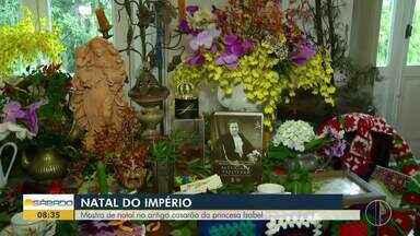 Mostra de Natal acontece no antigo casarão da princesa Isabel - Entrada custa R$15 reais.