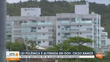Nova lei retira limite fixo de pessoas por quarto em imóveis em Governador Celso Ramos - Nova lei retira limite fixo de pessoas por quarto em imóveis em Governador Celso Ramos