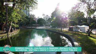 Assista ao bloco 1 completo do 'Estúdio C' - As memórias do Passeio Público de Curitiba