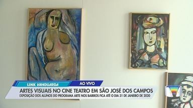 O Cine Teatro está com uma exposição de trabalhos feitos por alunos de São José - O repórter Lucas Rangel foi conferir o trabalho.