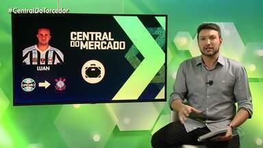 Corinthians e Grêmio estão perto de acertar negócio da venda do Luan - Meia está próximo de ir para time paulista.