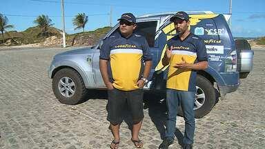 Dupla de sergipanos comemora vice-campeonato em rally na Bahia - Dupla de sergipanos comemora vice-campeonato em rally na Bahia