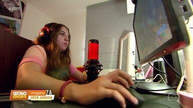 Pernambucana faz sucesso na internet como streamer de games - Pernambucana faz sucesso na internet como streamer de games