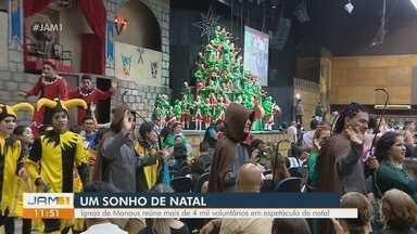 Sonho de Natal começa temporada de espetáculos em Manaus - Sonho de Natal começa temporada de espetáculos em Manaus