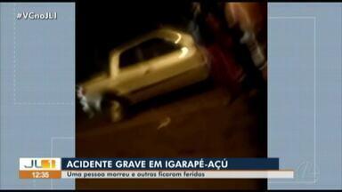 Homem alcoolizado atropela romeiros durante procissão em Igarapé-Açú - Homem alcoolizado atropela romeiros durante procissão em Igarapé-Açú