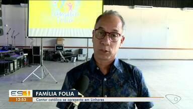 Cantor católico Dunga se apresenta em Linhares, ES - Show acontece neste sábado (14).