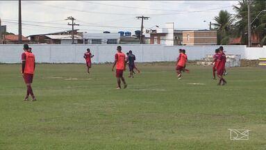 Maranhão realiza último treino antes de jogo pela Copa FMF - Tarefa será difícil na tarde deste domingo (15) em São Mateus, mas no time atleticano todos acreditam que o bicampeonato da Copa FMF será conquistado.