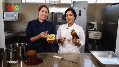 Veja a receita do 'Sabores Daqui' - Quadro desta semana ensinou como preparar um delicioso panetone com crosta de babaçu.