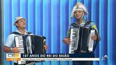 Seguidores do Rei do Baião participam de festa em Exu (PE) - Saiba mais no g1.com.br/ce