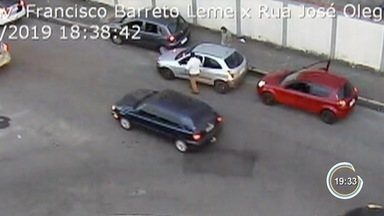 PM é atropelado por motorista em abordagem em Taubaté - Motorista foi preso.