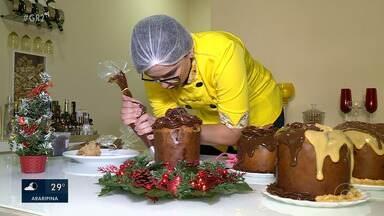 Produção de panetones para Natal cresce em Petrolina - O item é muito procurado para a ceia de Natal