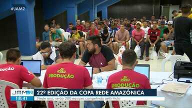 Times se inscrevem para Copa Rede Amazônica de Futsal - É a 22 edição do evento