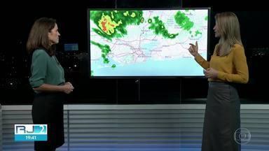 Previsão é de chuva para boa parte do Rio de Janeiro na quinta-feira (12) - Tem previsão de chuva para o Sul do Estado, Baixada e Região Serrana.