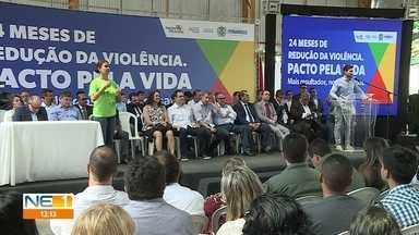 SDS registra diminuição de homícídios em Pernambuco em novembro de 2019 - Segundo o governo, são 24 meses de redução consecutiva do número de assassinatos.