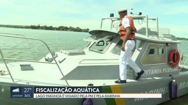 PM e Marinha se dividem na fiscalização do Lago Paranoá - Caso vai ser investigado pelo Ministério Público.