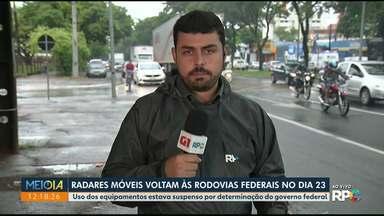 Radares voltam às rodovias federais dia 23 - Medida atende determinação da Justiça.