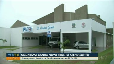 Pronto atendimento de Umuarama já está em funcionamento - Casos de urgência e emergência são levados para PA.