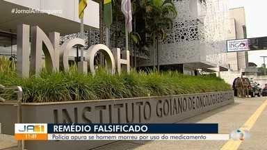 Polícia investiga se pacientes morreram devido a uso de remédio falsificado, em Goiânia - Apuração é uma continuidade da Operação Metástase.