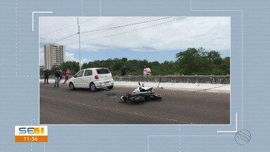 Motoboy morre em acidente de trânsito na Zona Sul - Motoboy morre em acidente de trânsito na Zona Sul.
