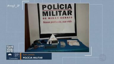 Homem é preso por porte ilegal de arma em Juiz de Fora - Autor, de 28 anos, foi preso no Bairro Santa Cruz, na noite desta segunda-feira (17).