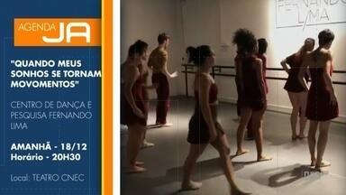 Centro de Dança Fernando Lima apresenta espetáculo em Joinville - Centro de Dança Fernando Lima apresenta espetáculo em Joinville