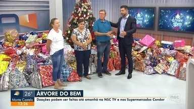 Árvore do Bem: telespectador doa presentes para a campanha - Árvore do Bem: telespectador doa presentes para a campanha