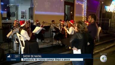 Estação Ferroviária recebe show natalino em Petrolina - A apresentação acontece nesta terça-feira (17)