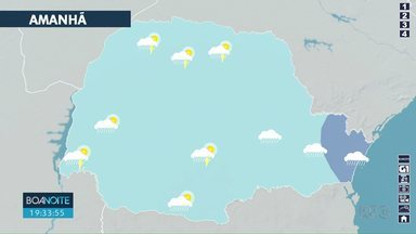 Tempo vai continuar chuvoso em Londrina - Previsão aponta chuva até o fim de semana