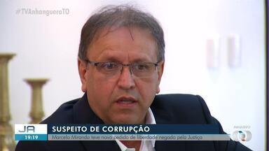 Justiça nega novo pedido de habeas corpus para o ex-governador Marcelo Miranda - Justiça nega novo pedido de habeas corpus para o ex-governador Marcelo Miranda